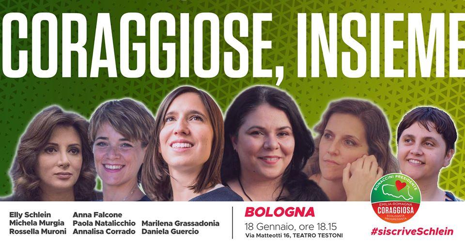 Coraggiose, Insieme - Elly Schlein, Michela Murgia e tante altre
