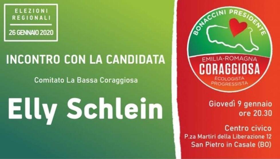 Incontro Con La Candidata ELLY SCHLEIN
