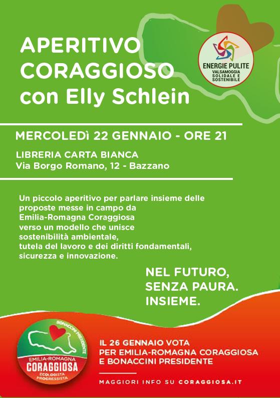 APERITIVO CORAGGIOSO - con Elly Schlein
