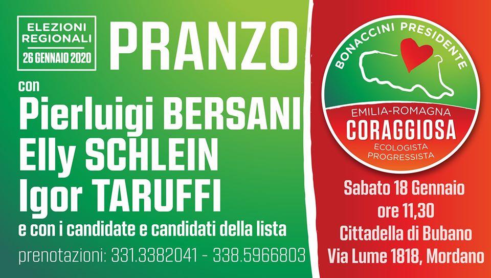 Pranzo Emilia-Romagna Coraggiosa