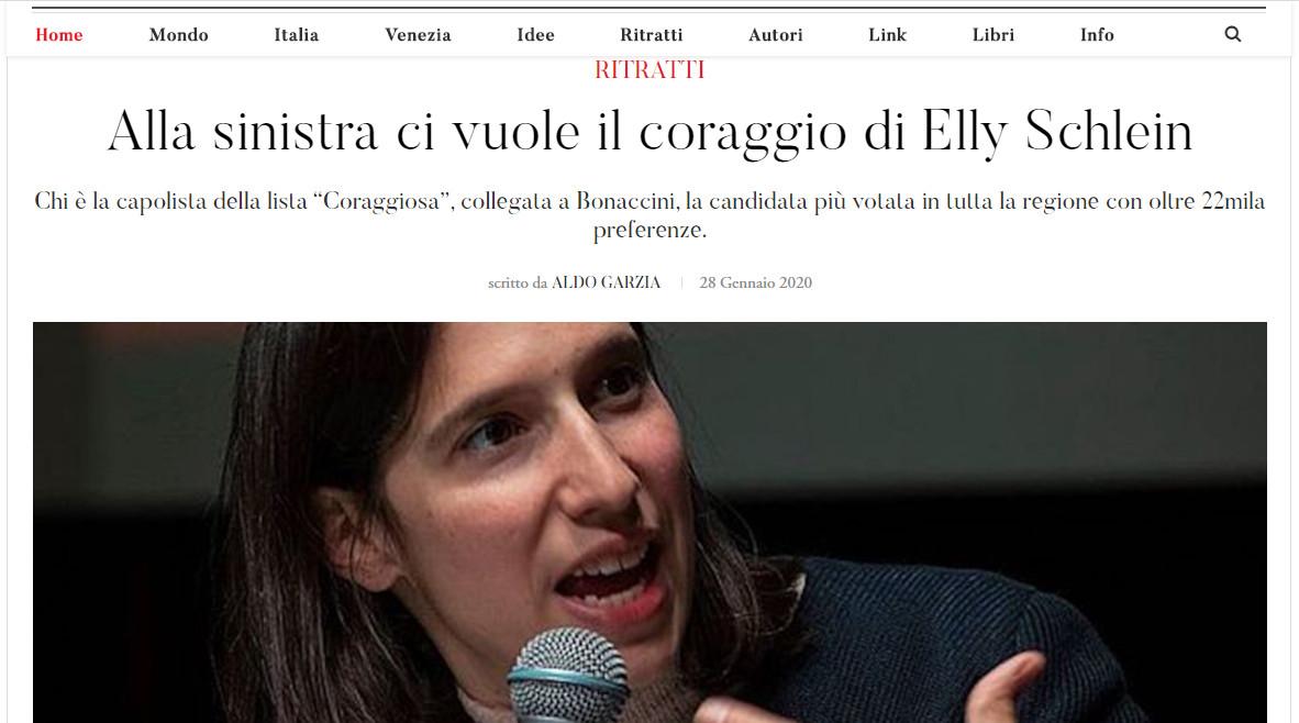 Ytali.com – Alla sinistra ci vuole il coraggio di Elly Schlein