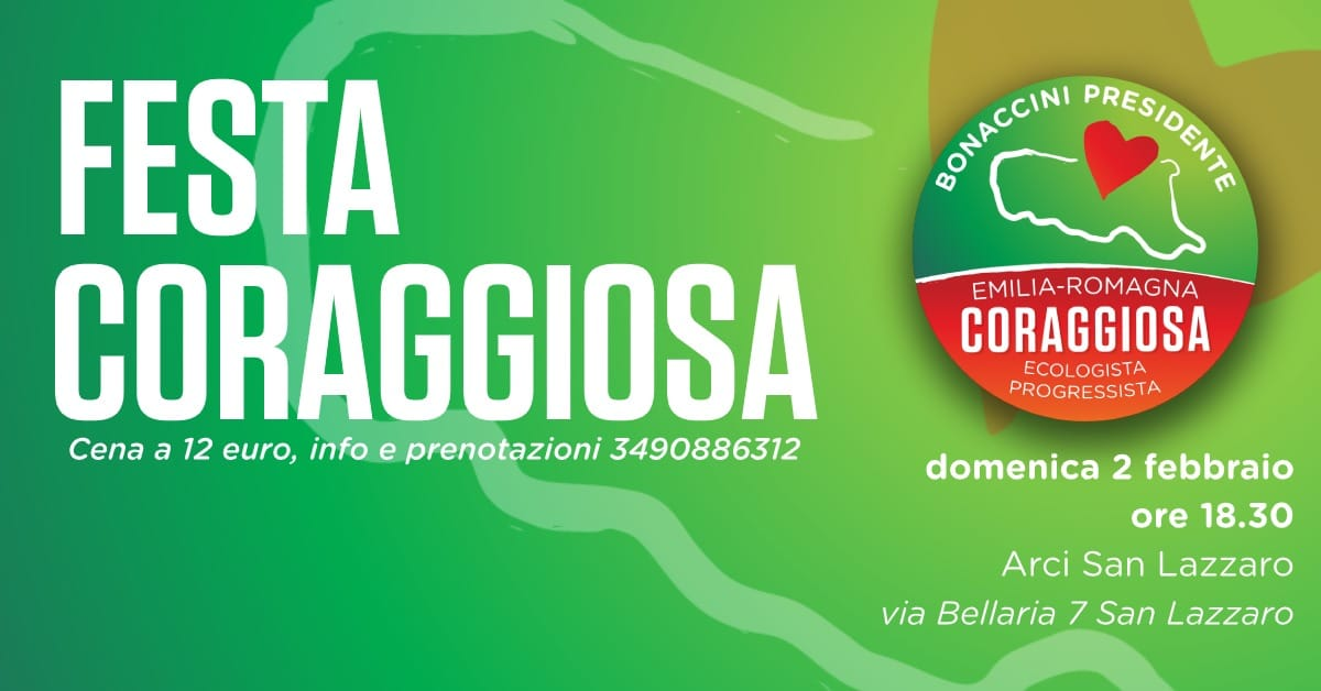 Festa di Coraggiosa Bologna!