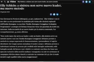Il Sole 24 Ore – Video – Elly Schlein: a sinistra non serve nuovo leader, ma nuovo metodo
